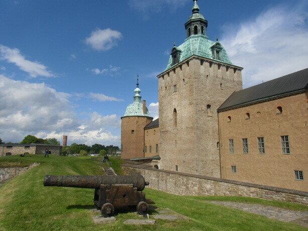 El castillo de Kalmar es la joya de la corona de la ciudad