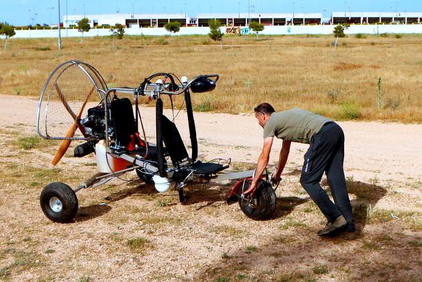 Paramotor en Albacete