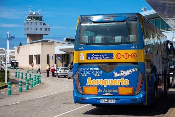 Autobus del Aeropuerto Asturias