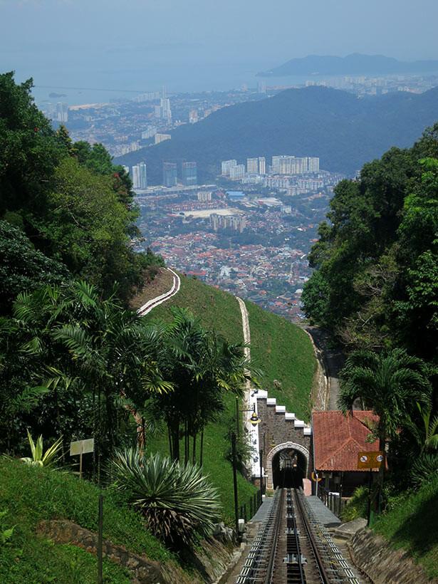funicular-penang hill