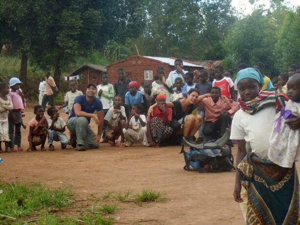 Increíble acogida por los niños de las montañas de Gurué