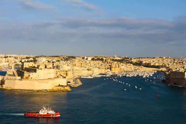 Fuerte San Angelo en Birgu (Vittoriosa), Malta