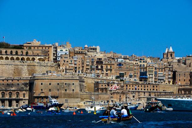 Paseo en Dghajsa por el puerto de La Valletta, Malta
