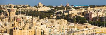 Puerto deportivo de Birgu (Vittoriosa) en Malta