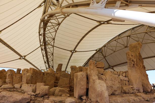 Templo Megalitico Hagar Qim en Malta