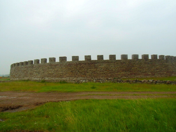El castillo de Eketorps