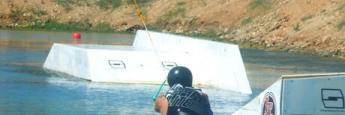 Mi primer intento en el wakeboard fue una pasada