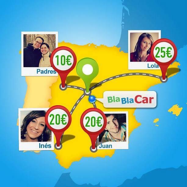 Blablacar se ha convertido en mi medio de transporte preferido para recorrer España