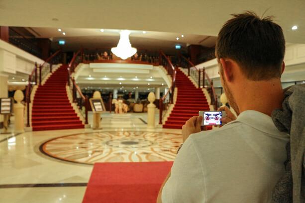 Lobby Grand Hotel Excelsior La Valletta Malta