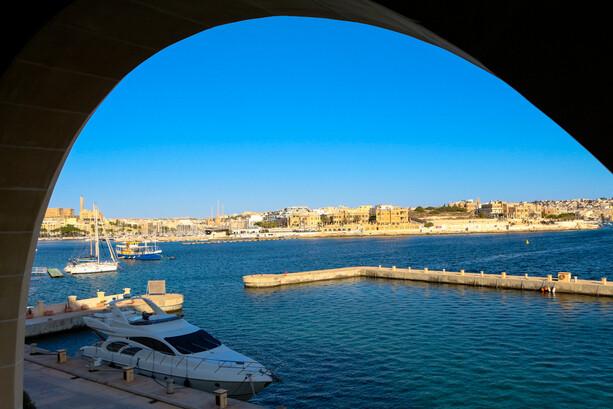 Vistas desde terraza habitación Grand Hotel Excelsior La Valletta Malta