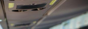 Aviso para apagar equipos electrónicos (AirEuropa de Palma a Ibiza)