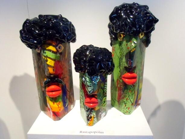 Una de las creaciones de Jan-Erik Ritzman