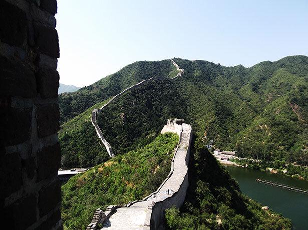 La Muralla China en Huang Hua Cheng: imagen de @SbortoZhou