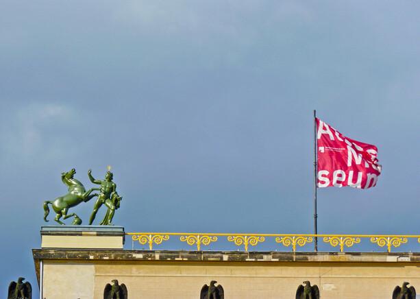 Altes museum en Berlín