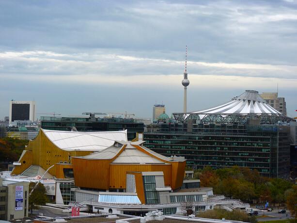Edificio de la Orquesta Filarmónica de Berlín