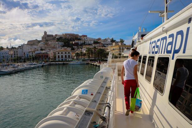 Ferri Ibiza a Formentera de Trasmapi