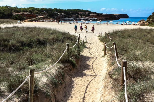 Playa de Cala Saona en Formentera