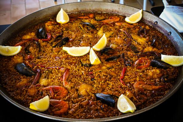 Arrozada en Restaurante Vogamari de Formentera