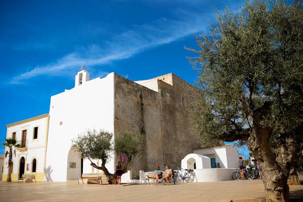 Iglesia de Sant Francesc en Formentera