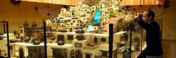 Visitando el Belén de Chocolate de Artesanos Galleros en Rute