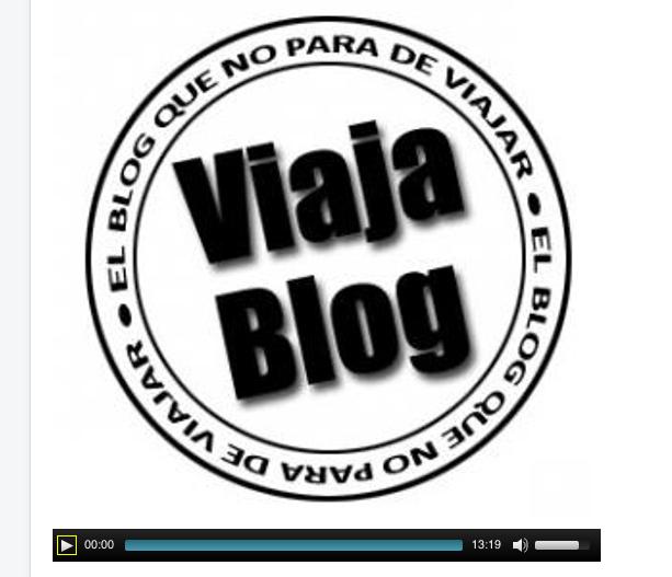 Entrevista Viajablog en Onda Cro