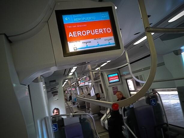 Tren RENFE Cercanías Madrid Aeropuerto Barajas
