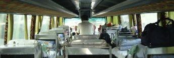 Autobús con literas en China