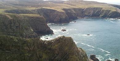 Acantilados en el Oeste de Irlanda