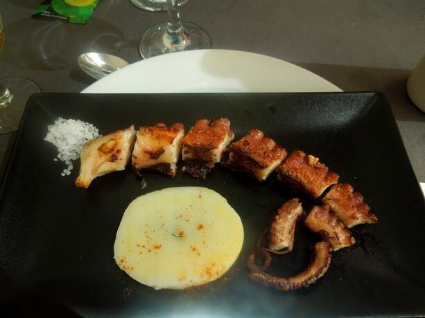Pulpo exquisito en Ventall Freddy de Sant Carles