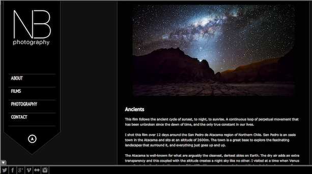 Timelapse Ancients Desierto de Atacama Chile