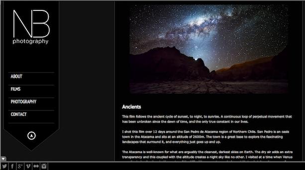 Timelapse Ancients Desierto de Atacama Chile