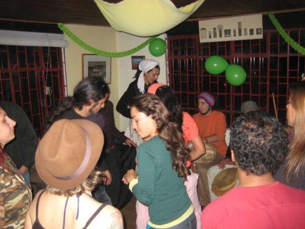 Una fiesta a la que nos invitaron en Bogotá