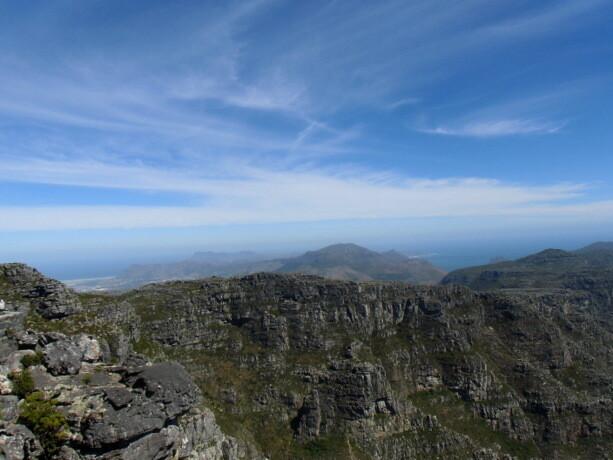 Vistas hacia el Cabo de Buena Esperanza