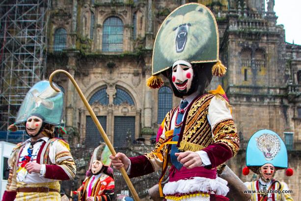 Felos de Maceda Entroido Galicia
