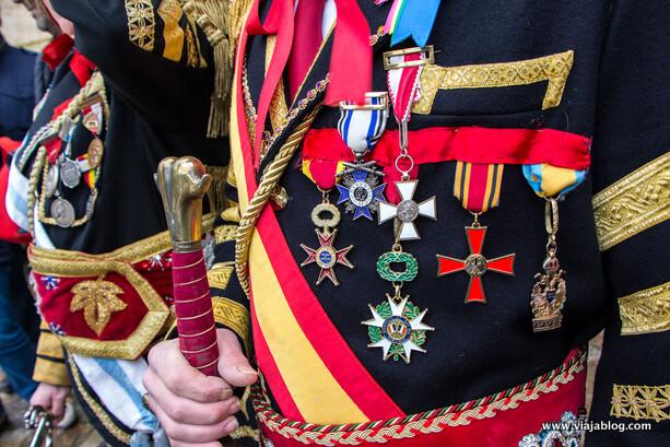 Medallas de Miguel, Xeneral da Ulla en el concejo de Vedra