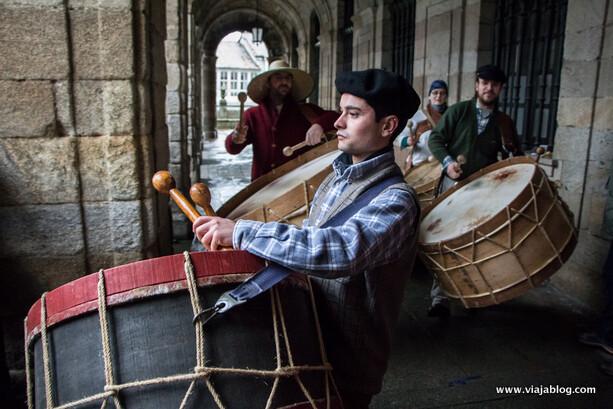 Folións de Viana do Bolo, Ourense Entroido Galicia