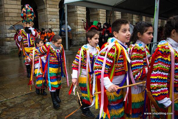 Vellaróns Castrelo de Cima, Riós, Ourense Entroido Galicia