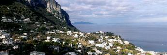 Vistas desde el pueblo de Capri