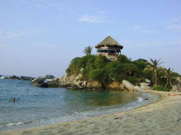 Alojamiento en Tayrona en Colombia