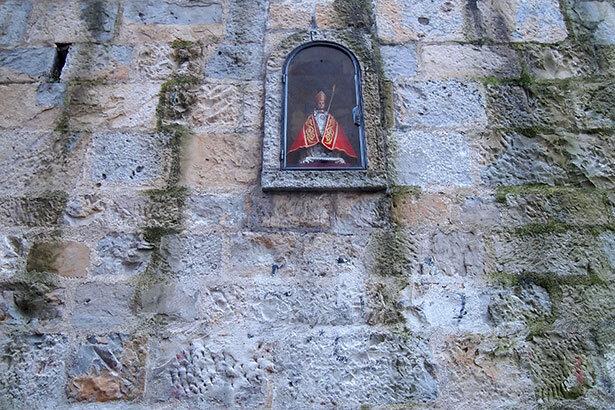 San Fermín en su hornacina