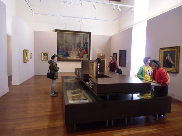 Una de las salas del museo Ingres