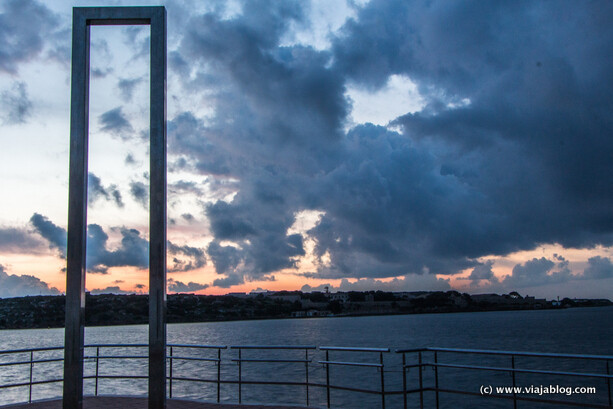 Puerta de Eos, Cales Fonts, Es Castell, Menorca