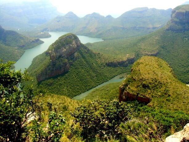 El majestuoso cañón del río Blyde