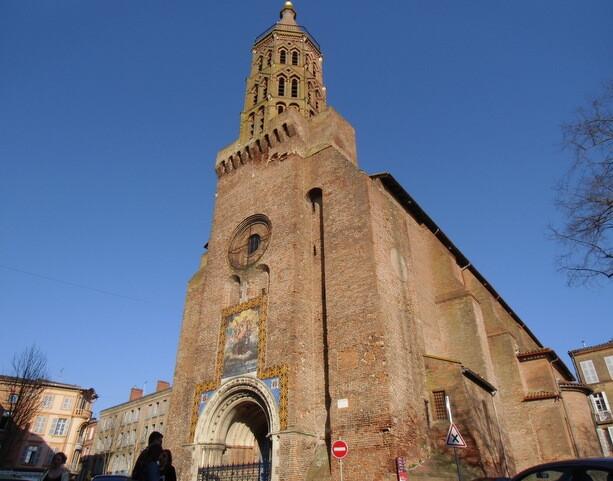 La iglesia de Saint Jacques en Montauban