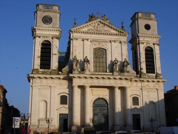 La catedral de Notre Dame de la Assomption en Montauban