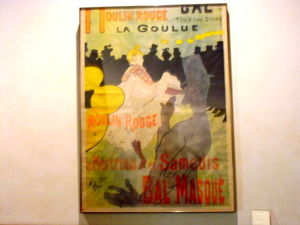 Cartel de Moulin Rouge de Lautrec