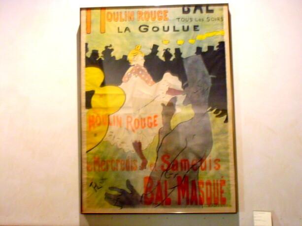 Cartel de Moulin Rouge de Lautrec