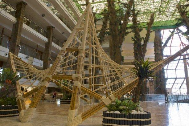 Hall del hotel Polynesia