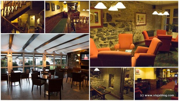 Interior Hotel Virxe da Cerca Santiago Compostela