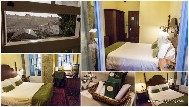 Habitación Hotel Virxe da Cerca Santiago de Compostela